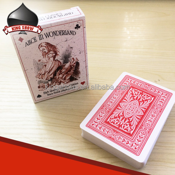 New design custom playing cards/poker with OEM service