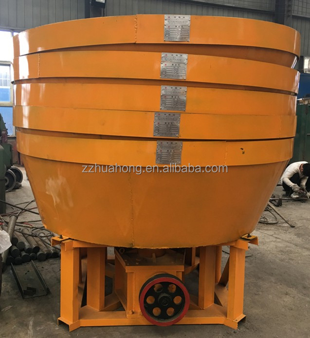 China Gold Ore Wet Pan Mill Grinding machine with large capacity on sale,china wet pan mill for gold in favorate price