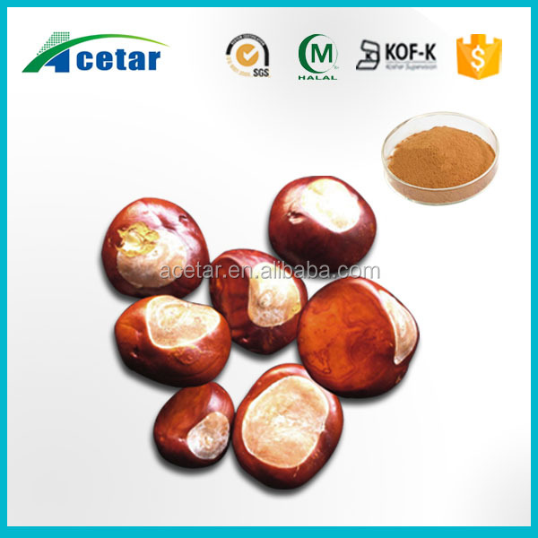Pure natural herbal conker tree horse chestnut extract