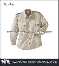 mens military style shirt