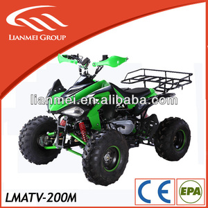 adult atv racing with GY6 oil cooled engine