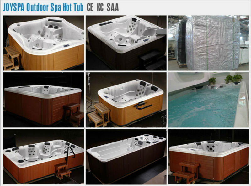 Freestanding installation type and center drain location 4 for Types of hot tubs