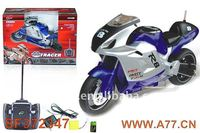 2013 lastest 1:8 3W plastic radio control motorbicycle toy for children