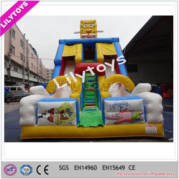 Outdoor CE Commercial Used Offer Inflatable Slides