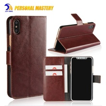 For iphone x 10 Case, PU leather Cell Phone 10 Case For iphone x Leather case for iphone 8 8 plus Wallet Style Card Holder