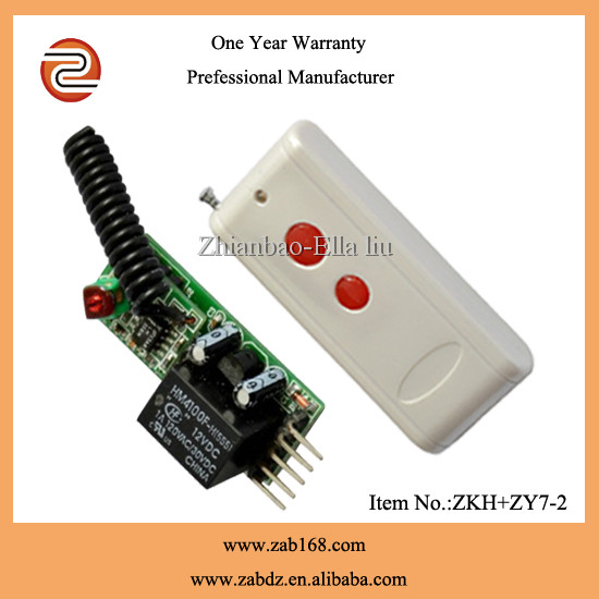 black 315Mhz wireless remote control switch