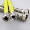 "1/2"" stainless steel flexible metal tube for gas"