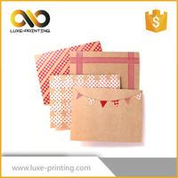 Customized envelopes size A3 A4, A5, B4 B5 B6 C3 C4 C5 C6 kraft paper