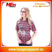 Hongen apparel China Manufacture Wholesale Custom Tirupur Sublimation Blank T shirts