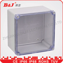 water proof plastic enclosures/ABS plastic junction box IP68 /electrical junction boxes