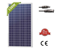 cheap price poly 18v polycrystalline 150w solar panel 150 watt from china manufacturer