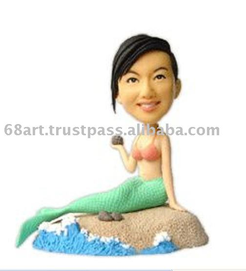 3D cartoon figure