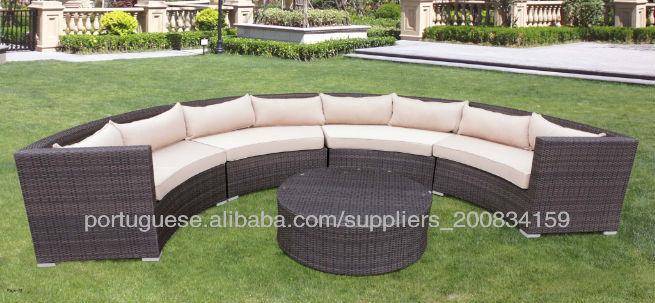 Fabriqué en Chine canapé courbe, demi cercle canapé, canapé cercle ...