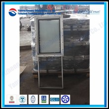 Boat steel vertical sliding window
