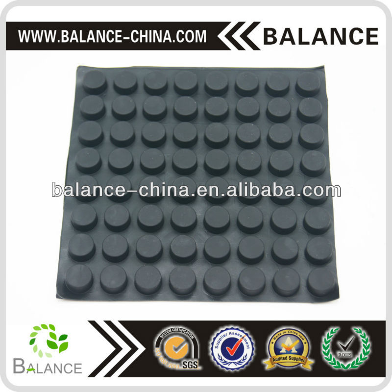 silicone anti slip bumper pad with super adhesive