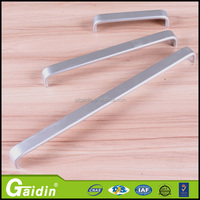 foshan supplier extrusive aluminum pull handles profile kitchen handles
