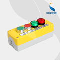 Saipwell New head stop control push button box With Singal Light