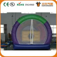 New product attractive style inflatable castle dry slide for kids and adults for 2015