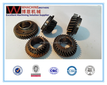 Customized helical gear made by whachinebrothers ltd.