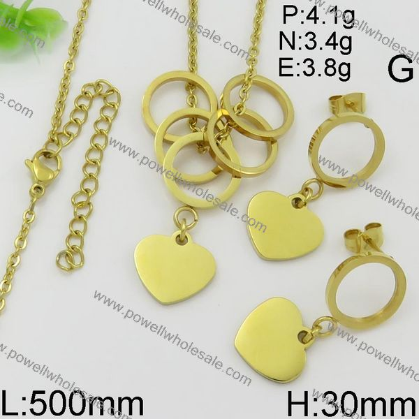 manufacturer wholesale gold stainless steel gold filled heart fashion jewelry hong kong