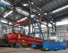 14 inch low price sand cutter suction dredger used for sand dredging machiner sale JLCSD-3512