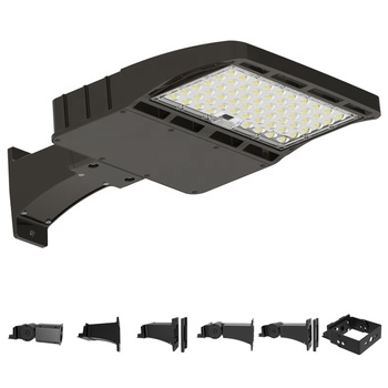 DLC premium Parking lots lamp 150w led shoebox 150 watt led street light photocell