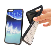 Cheap 2D Soft TPU Sublimation Coated Printable Unbreakable Mobile Phone Case for Popular Phones