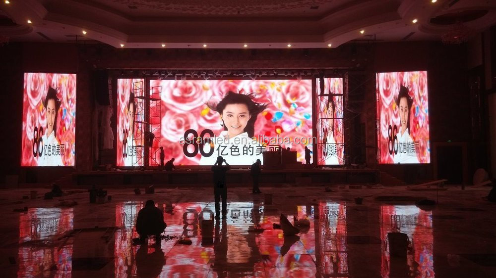 3mm indoor 64x32 led display module dot matrix p3