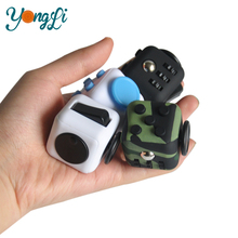 Fidget Cube Relieves Stress And Anxiety Smooth Button Desk Toy Stress Cube