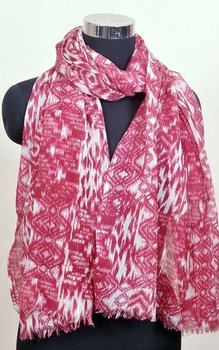 100% casmere silk printed long Scarfs