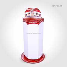 Custom Counter Rotating POS Hook Display Stand for Hair Accessories