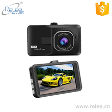 Shenzhen Relee popular 3inch car dash cam 140 degree car DVR camera recorder with G sensor