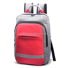 BSCI Audit New Casual Leather Bookbag Schoolbag Laptop Backpack