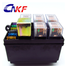 CNKF Iso Plastic Fuse 5 Road 30A 12V Automotive Car Auto Relay Box