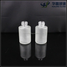 High quality 30ml 1oz mini frosted cylinder glass dropper bottle