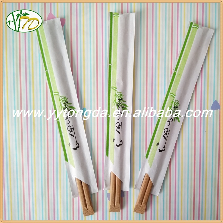 New supreme quality paper wrap bamboo chopstick