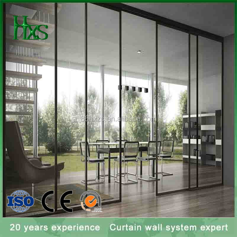 China supplier professional custom-made aluminium doors for powder coated aluminum sliding door