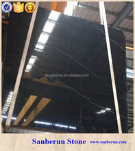 Luxury Chinese Nero Marquina marble for sale