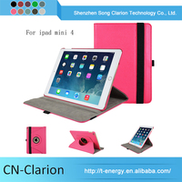 New Popular Smart Cover Designer Tablet Cases for iPad mini 4