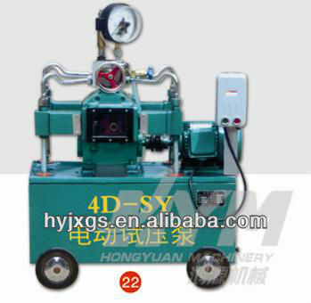 High pressure hydraulic test equipment / High pressure hydro test pump