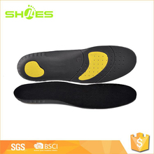 Hot sale black color soft eva footbed insole