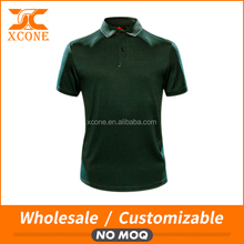 Men custom dry fit polo/polo shirt polyester dry fit/men golf polo shirt for logo customing