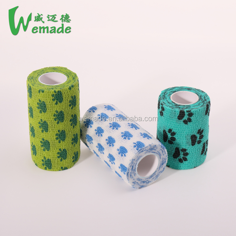 Best Selling Medical Products Colorful Medical Consumable Bandage Cohesive Elastic Bandage for Healthcare