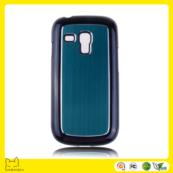 pc with metal for samsung s3 mini case