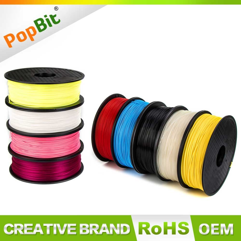 Various Colors Plastic Rods 3D Printer 1.75MM ABS/PLA Filament