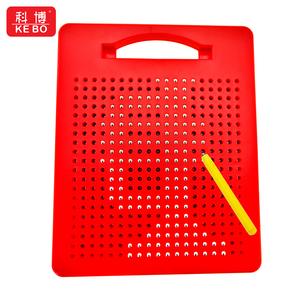 748 balls magnetic drawing tablet sketch board for painting with kick stand