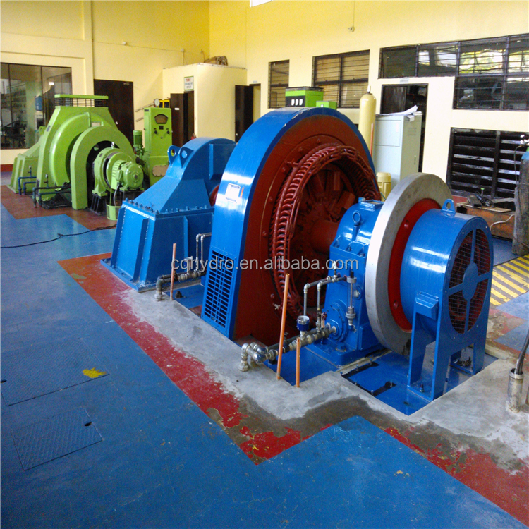 Water Wheel Electric Generator And Micro Water Turbine Generator For Hydroelectric System