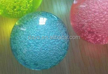 x-244 2017 high quality decorative crystal ball with bubbles personalized christmas crystal ball