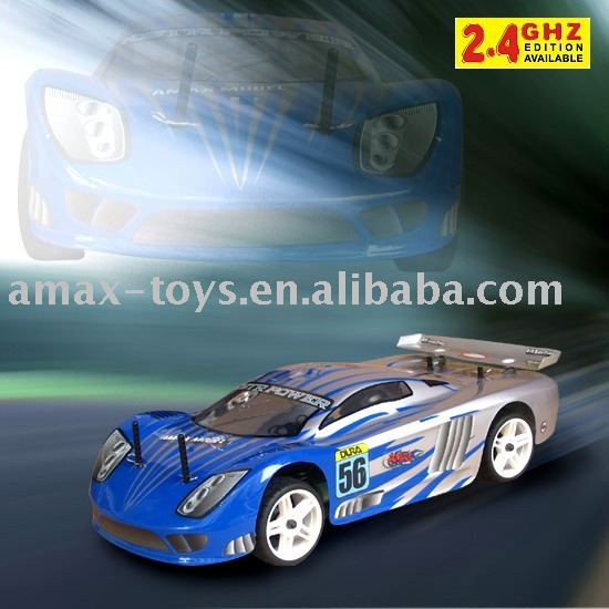 10030 1/10th scale 4wd battery powered on-road car kasa, 2.4G edition available