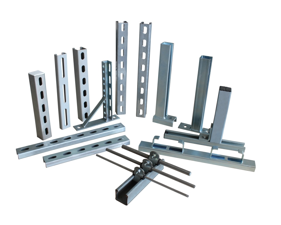 41mm*82mm Galvanized Steel Strut channel